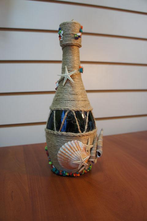 Бутылку в морском стиле своими руками