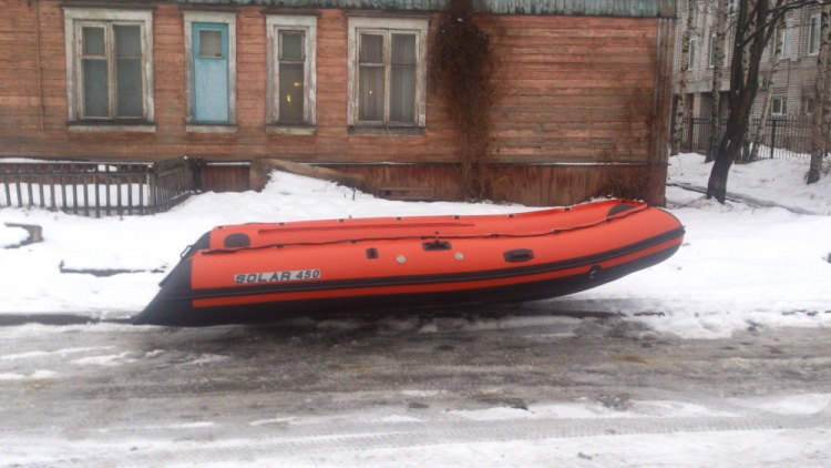 купить лодку солар 450 во  новосибирске