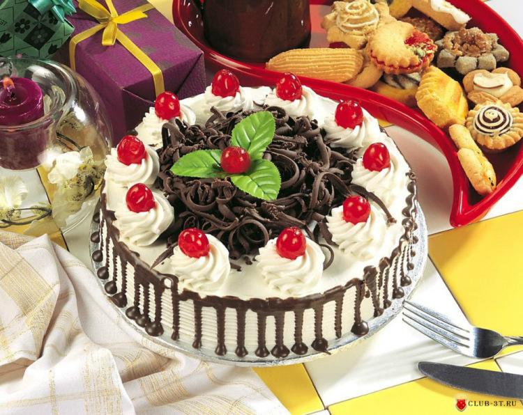 Украшение тортов с фотографиями