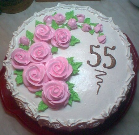 Украшения тортов с юбилеем фото