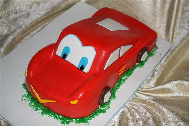 Торт машинка без мастики пошагово с фото