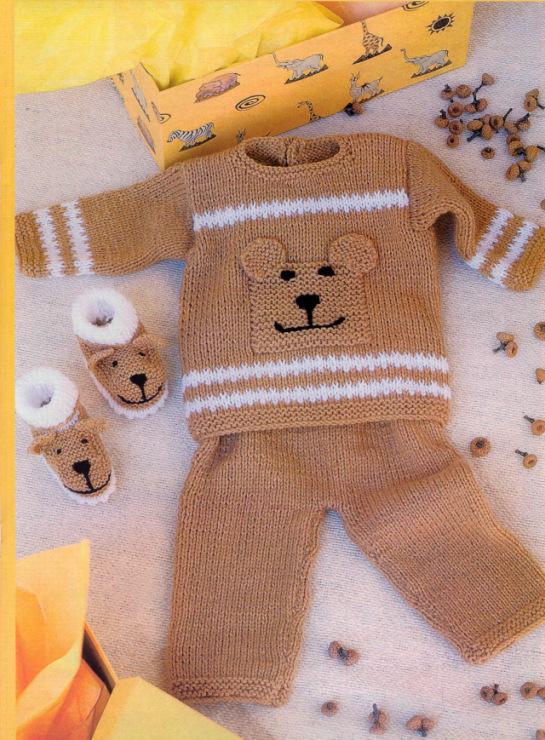 Вязанные костюмчики на мальчика до 2 лет