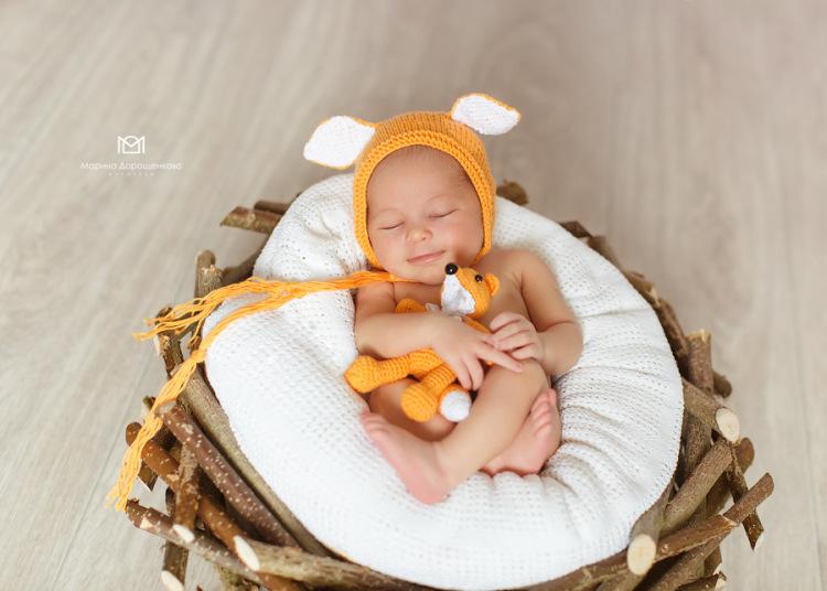 Для съемки новорожденных своими руками