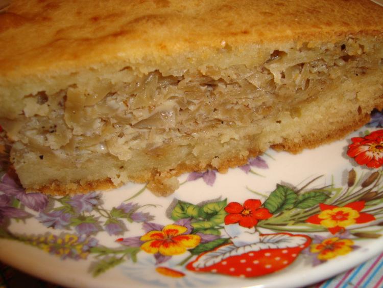 капустный пирог с яйцом рецепт с фото