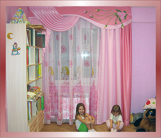 фото штор для детской мальчику