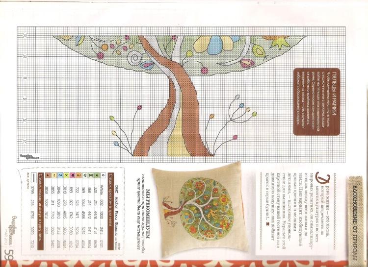 Вышивка дерево жизни схема 18
