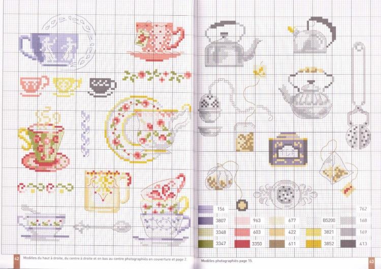 Сэмплеры вышивка схемы для кухни 58