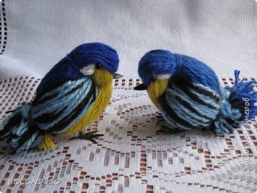 Птички из ниток мастер класс