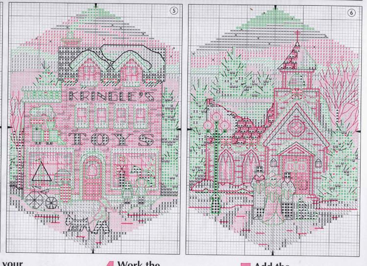 Схемы для вышивки от dimensions