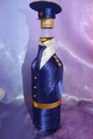 Мастер класс бутылка для военного 28