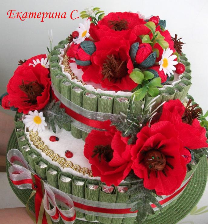 Купить торт из конфет