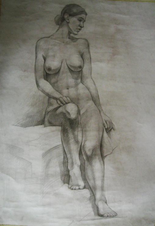 Студентки рисуют с натуры голых мужчин видео