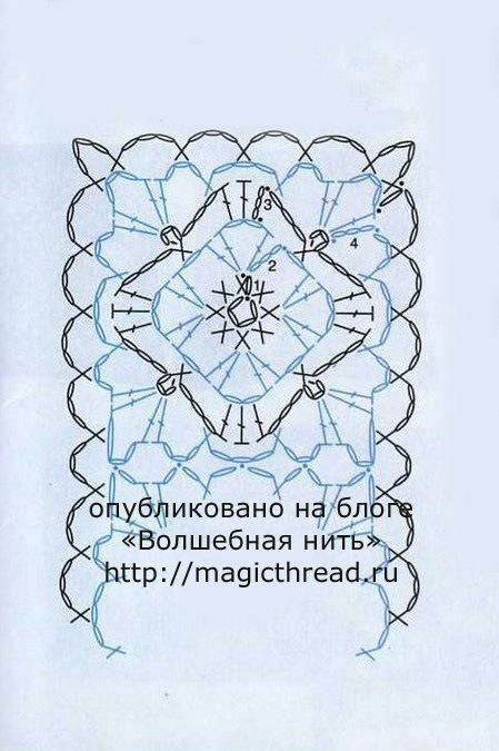 Схемы для вязания крючком браслеты 23