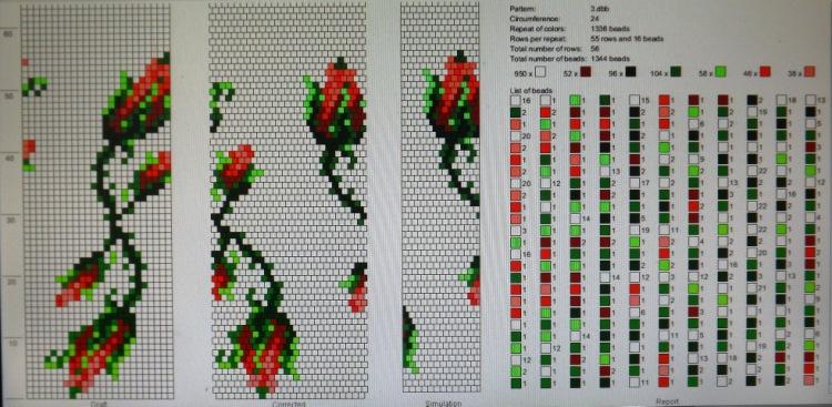 Жгуты из бисера: мастер-классы и схемы плетения для начинающих 99