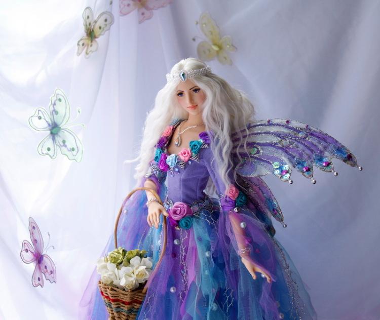 Как сделать куклу феи