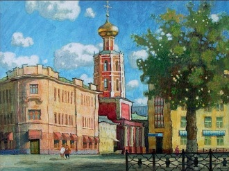 Художник Михаил Шашурин -